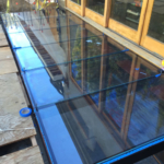 Glass Skylight and Bridge Walkway